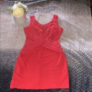 Beautiful Lush Coral mini dress